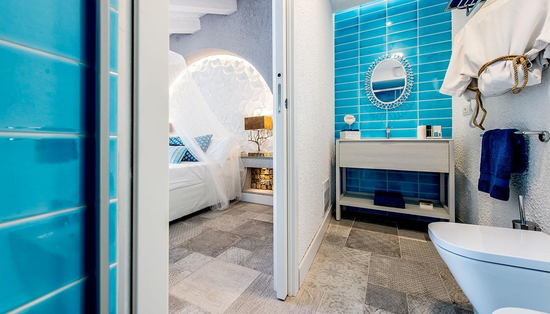 Hotel Capo Blu camera doppia superior bagno