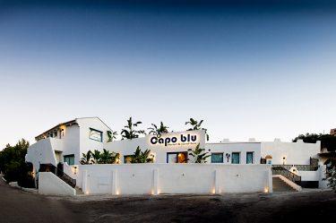 Boutique Hotel Capo Blu esterna notturna