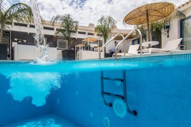 Boutique Hotel Capo Blu piscina