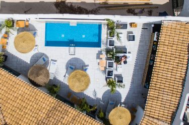 Boutique Hotel Capo Blu vista area 4